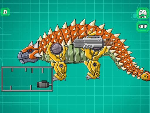Robot Ankylosaurus Toy War screenshots 11