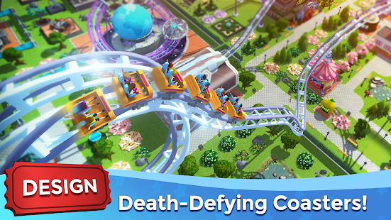 RollerCoaster Tycoon Touch Build your Theme Park v3.21.2 Mod (Unlimited Money) Apk + Data