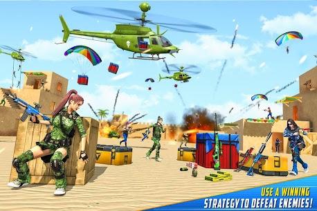 Real Commando Shooting Strike Mod Apk (God Mode/Dumb Enemy) 3