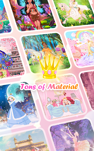 Princess Coloring Book: Special Color by Number 1.5.7 screenshots 9