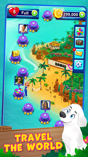 Bubble Pop: Wheel of Fortune! Puzzle Word Shooter apkpoly screenshots 6