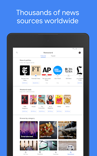 Google News - Daily Headlines android2mod screenshots 15