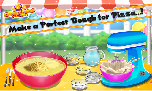 Street Food Pizza Maker - Burger Shop Cooking Game screenshots 8
