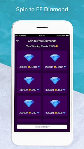 Code Triche Lucky Spin to FF Diamond - Win Free Diamond APK MOD (Astuce) screenshots 5