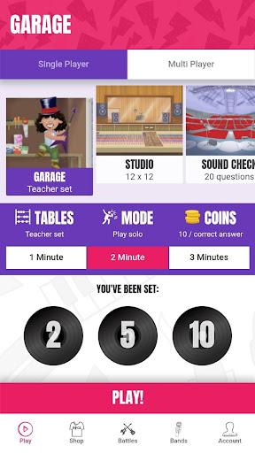 Times Tables Rock Stars apkpoly screenshots 1