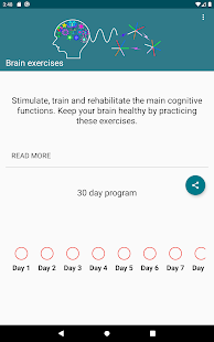 Exercises for the brain