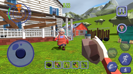 Scary Clown Man Neighbor. Seek & Escape Apkfinish screenshots 6