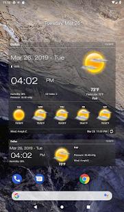 Weather & Clock Widget for Android 6.3.1.2 Screenshots 8