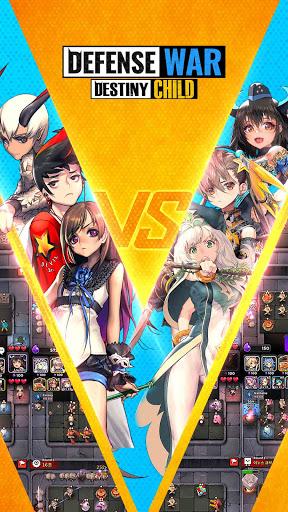 Defense War:Destiny Child PVP Game 1.8.19 screenshots 1