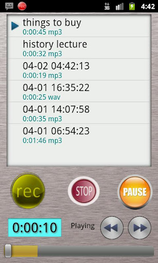 HQ Voice Recorder Lite For PC Windows (7, 8, 10, 10X) & Mac Computer Image Number- 6