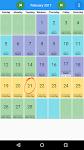 screenshot of My Schedule