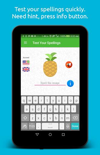 Spelling: Fruit & Vegetable 1.0.2 screenshots 9