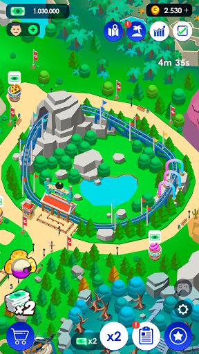 Idle Theme Park Tycoon - Recreation Game  screenshots 5