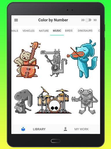Color By Number - Unicorns Pixel Art apkdebit screenshots 22