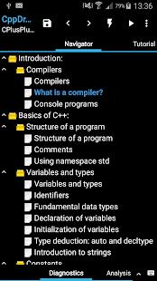 CppDroid - C/C++ IDE 3.3.3 Screenshots 7
