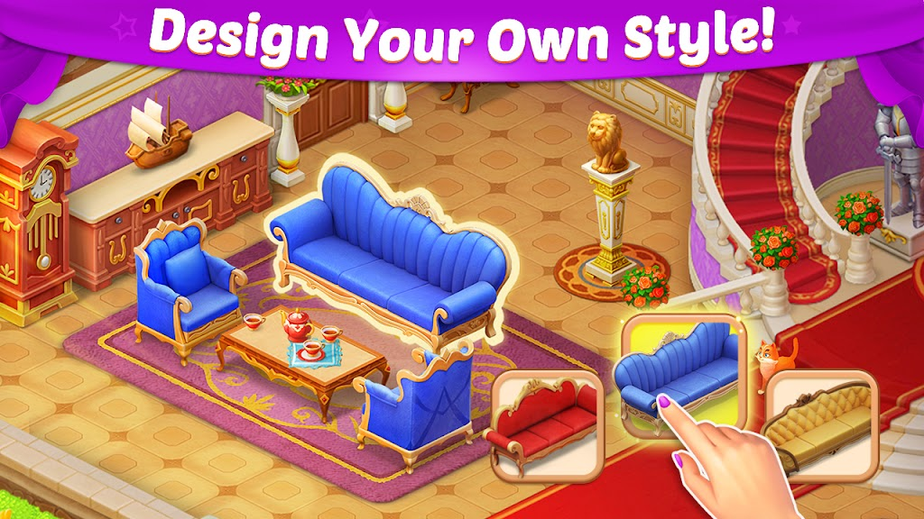Castle Story: Puzzle & Choice poster 1
