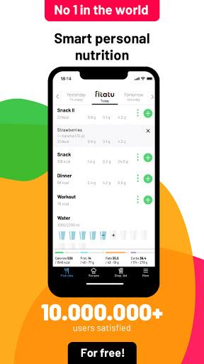 Fitatu Calorie Counter - Free Weight Loss Tracker 2.69.1 Screenshots 1