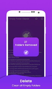 Empty Folder Cleaner v1.7 [Mod Ad Free] 4