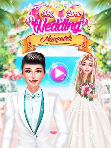 Real Model Wedding Makeover - Girls Games  screenshots 1