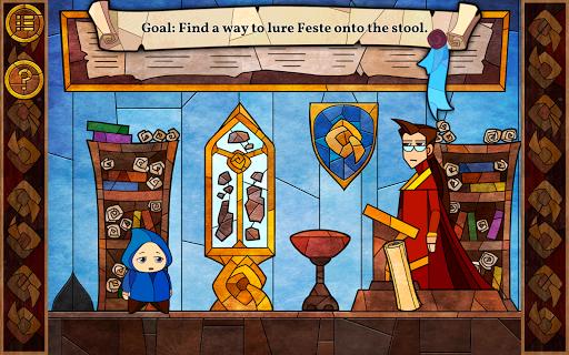 Message Quest — the amazing adventures of Feste
