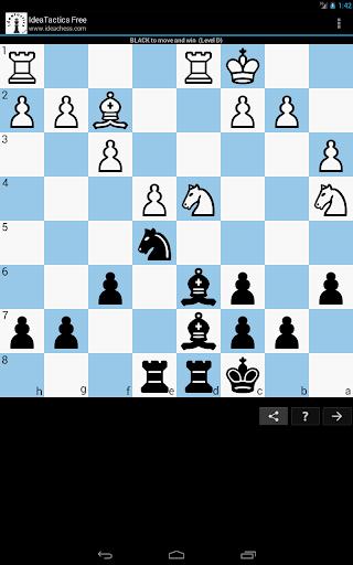Chess tactics puzzles | IdeaTactics 1.17 screenshots 9