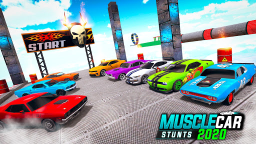 Muscle Car Stunts 2020: Mega Ramp Stunt Car Games 1.2.2 screenshots 4
