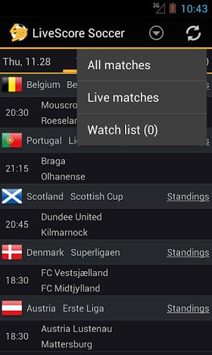 LiveScore Football  screenshots 4