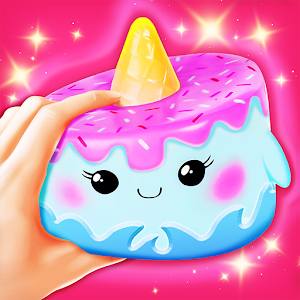 Squishy Slime Simulator: Coloring Games for Girls