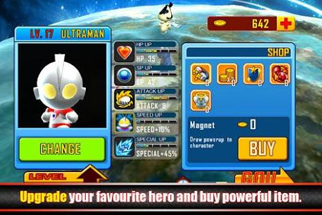 Ultraman Rumble 2.4 APK + Mod (Unlimited money) إلى عن على ذكري المظهر