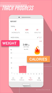 SheFit: Fitness Coach, Home Workout & No Equipment