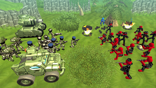 Stickman Tank Battle Simulator apklade screenshots 2