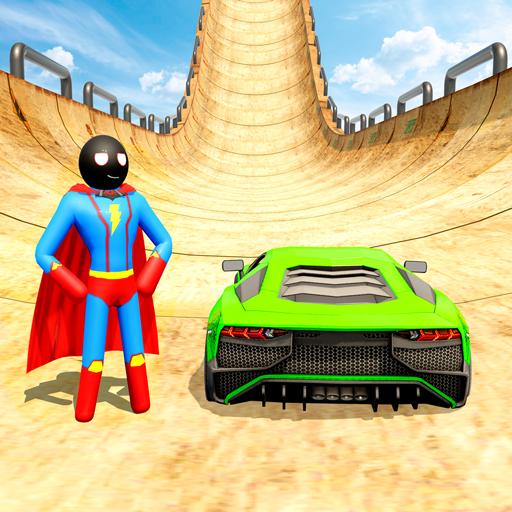 Stickman Car Stunt GT Racing