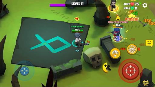 Warriors.io - Battle Royale Action 5.21 screenshots 3
