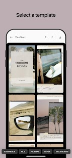 Unfold — Story Maker & Instagram Template Editor Screenshot