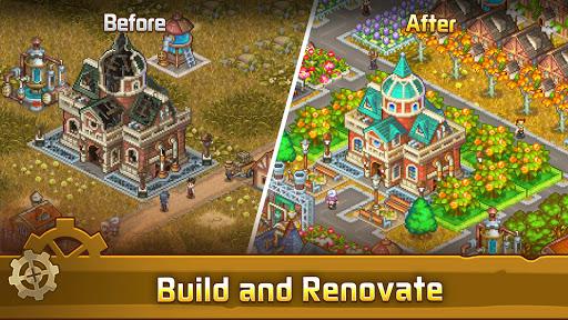 Steam Town: Farm & Battle, addictive RPG game  screenshots 7