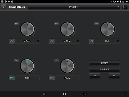jetAudio HD Music Player Screenshot