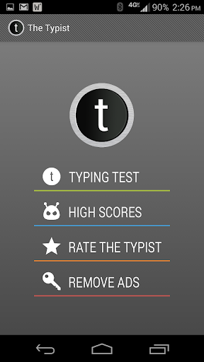 Typist: A Quick Typing Test For PC Windows (7, 8, 10, 10X) & Mac Computer Image Number- 10