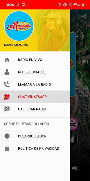 Radio Maravilla 102.5 FM - La mas Alegre Yungay screenshot 1