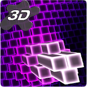 Neon Cube Cells 3D Live Wallpaper
