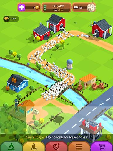 Tiny Sheep Tycoon Games u2013 Idle Wool apkpoly screenshots 18