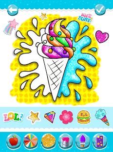 Glitter Ice Cream Coloring 5.4 Screenshots 14