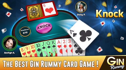 Gin Rummy - Best Free 2 Player Card Games screenshots 1