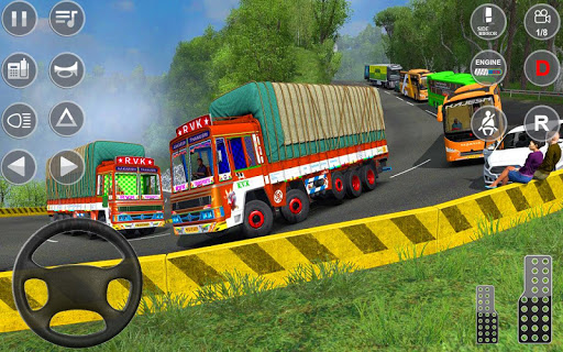 Indian Truck Spooky Stunt : Cargo Truck Driver 1.0 screenshots 2