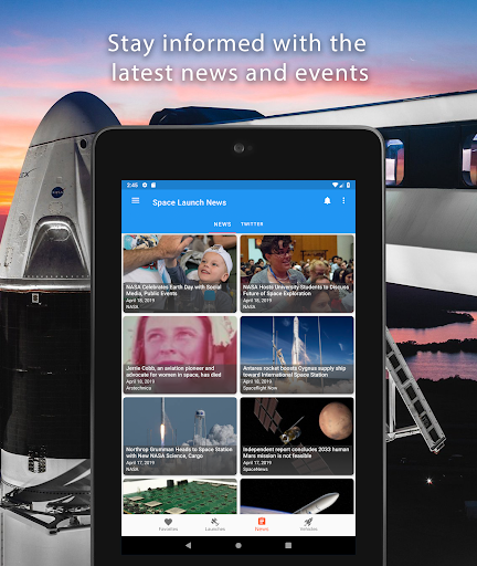 Space Launch Now - Watch SpaceX, NASA, etc...live! apktram screenshots 14