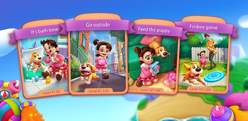 Puppy Diary: Free Epic match 3 Casual Game 2021  screenshots 7