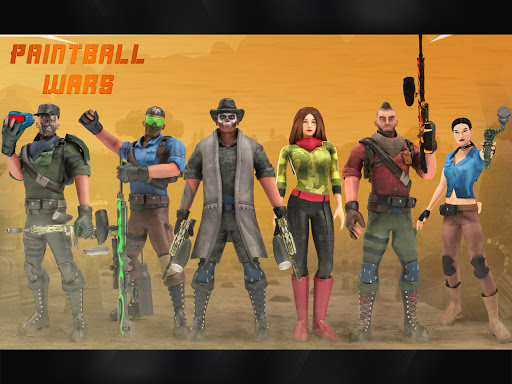 Paintball Shooting Games 3D apkpoly screenshots 7