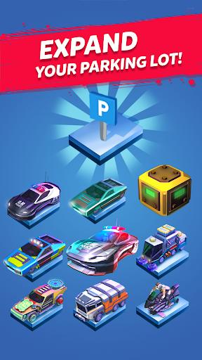 Merge Cyber Cars: Sci-fi Punk Future Merger 2.0.23 screenshots 2