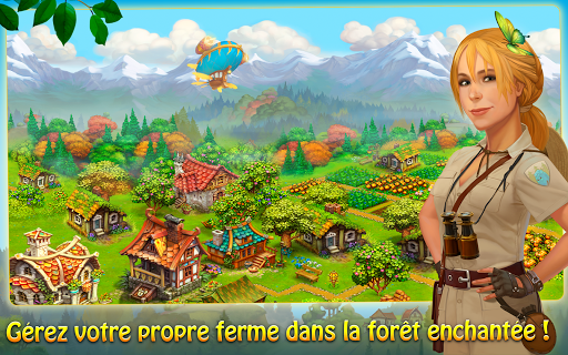 Télécharger Charm Farm - Village forestier mod apk screenshots 1