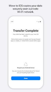 Move to iOS Screenshot