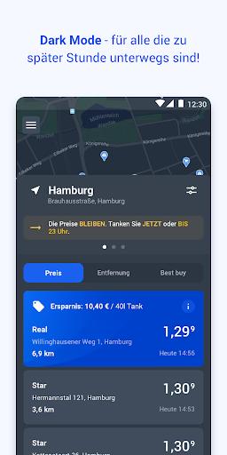 TankenApp mit Benzinpreistrend  screenshots 4